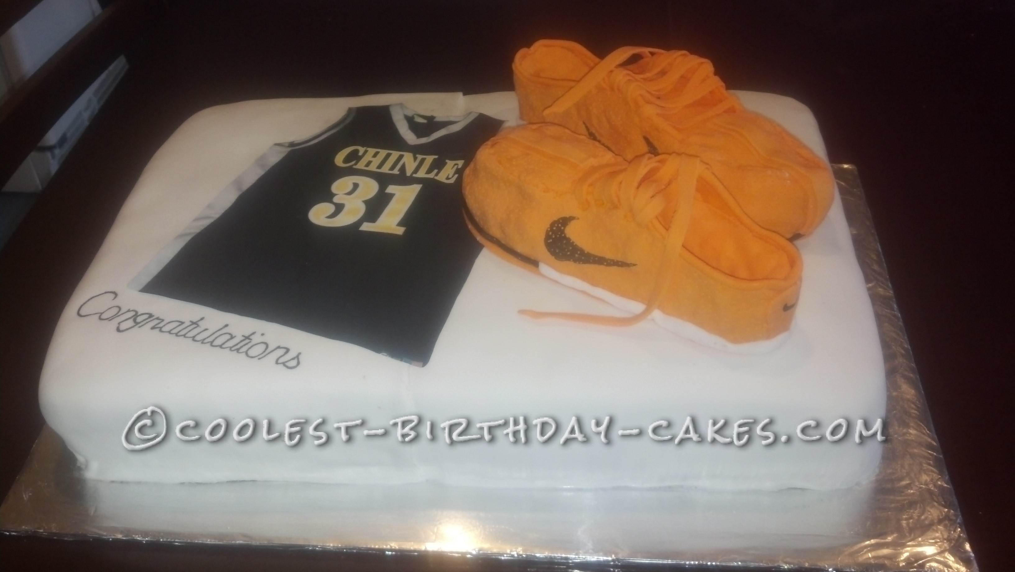 Coolest Basketball Cake