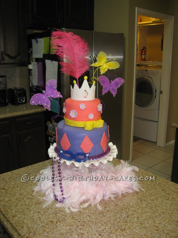 Swell Coolest Homemade Fancy Nancy Cakes Funny Birthday Cards Online Barepcheapnameinfo