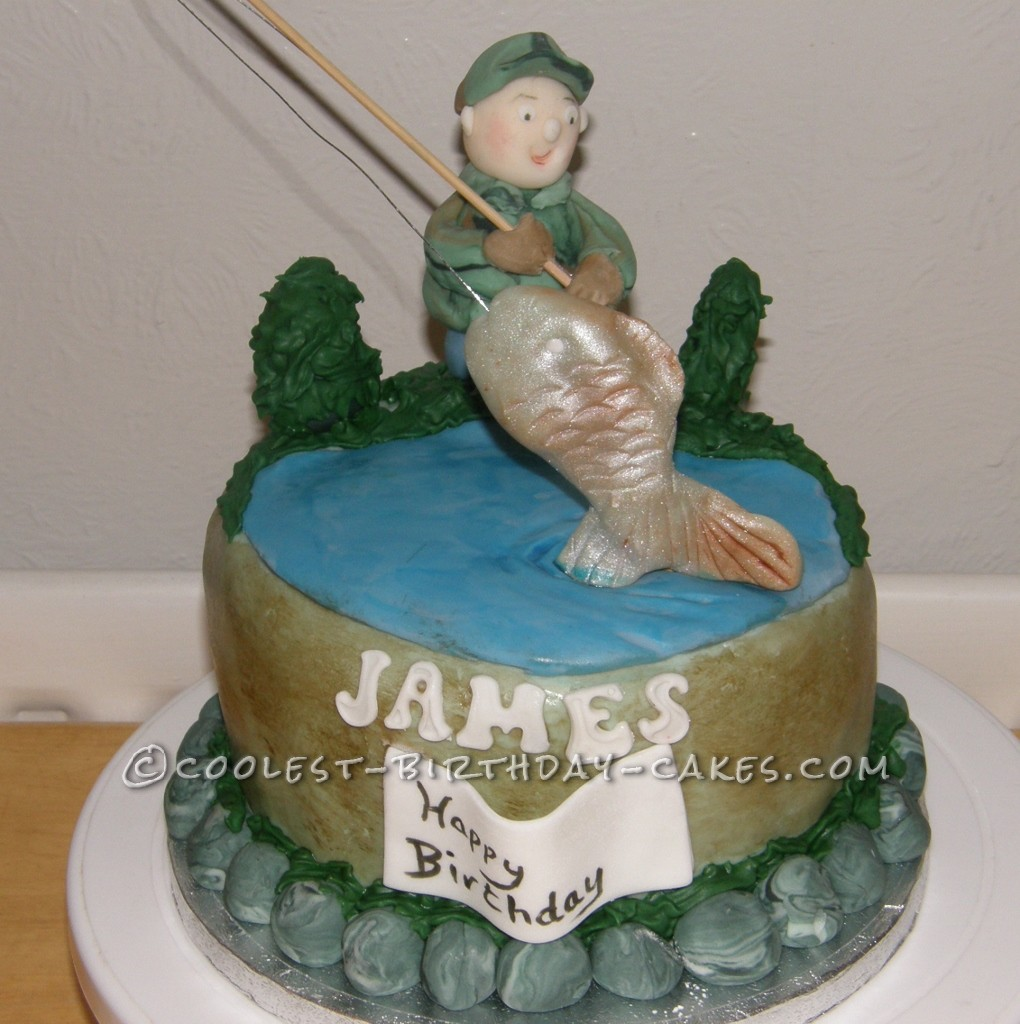 Coolest Fisherman Cake
