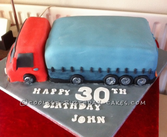Coolest Lorry Cake