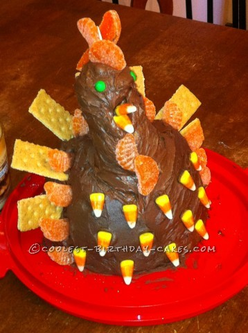 Coolest Turkey Cake