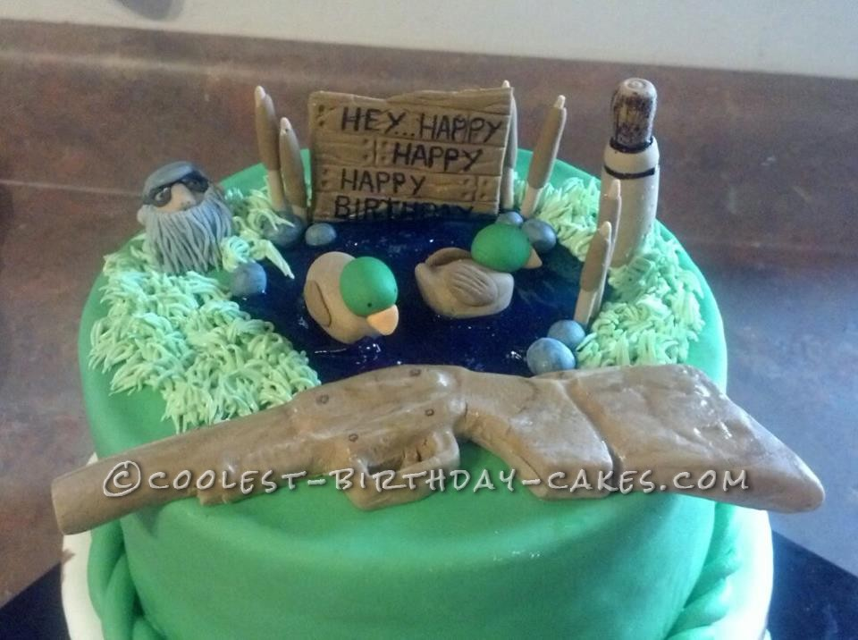 Coolest Duck Dynasty Cake