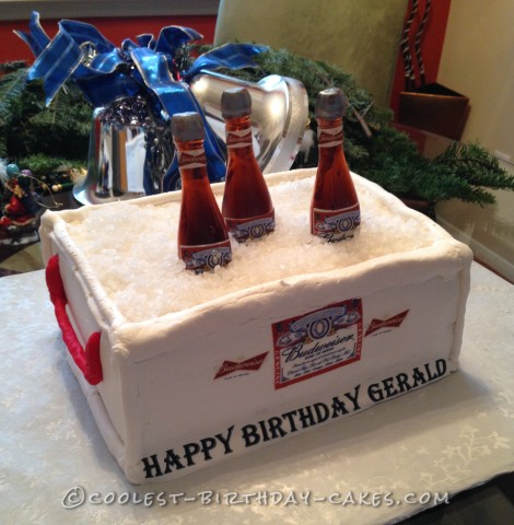 Coolest Easy Homemade Budweiser Cake