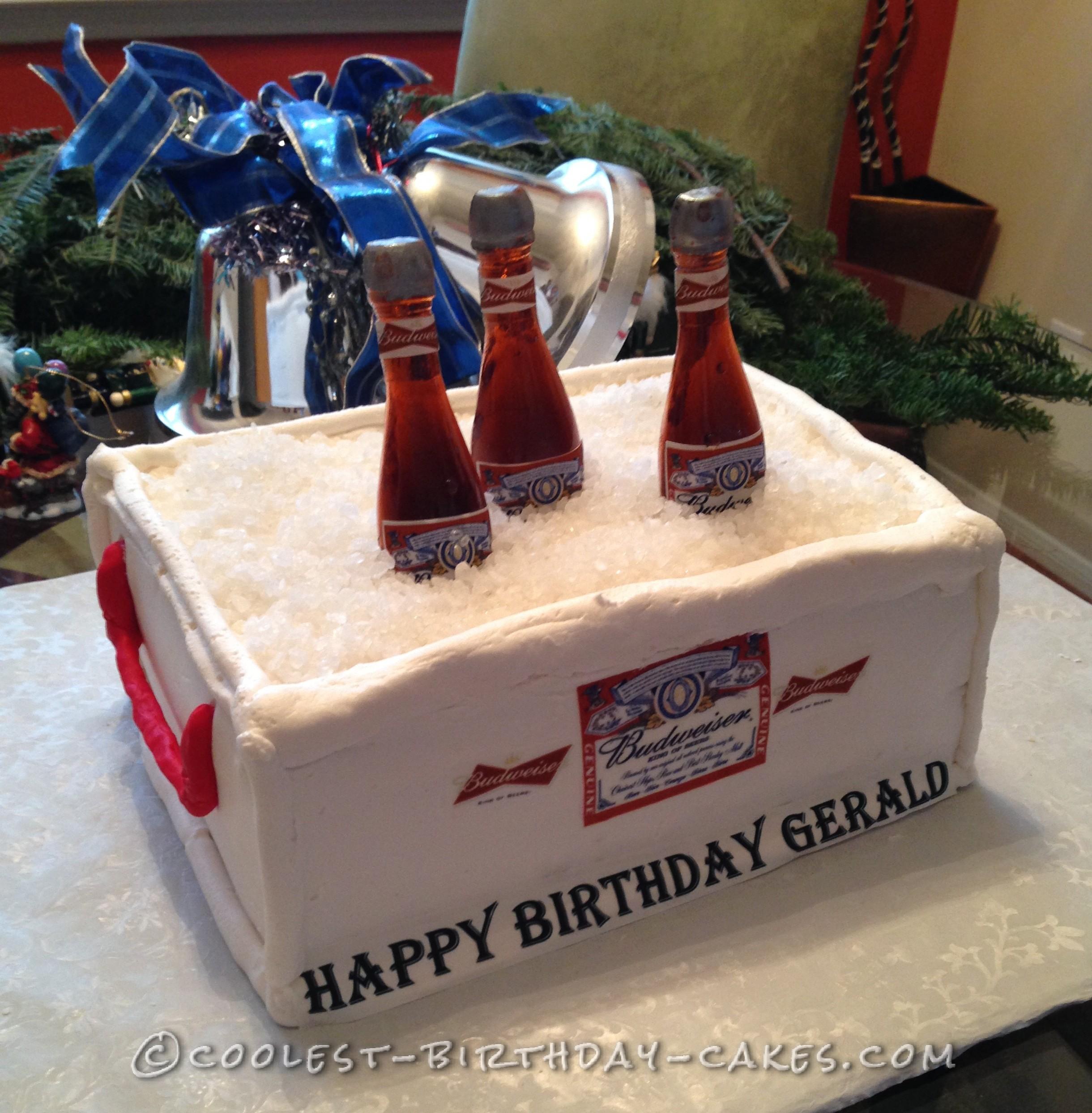 Coolest Easy Homemade Budweiser Cake