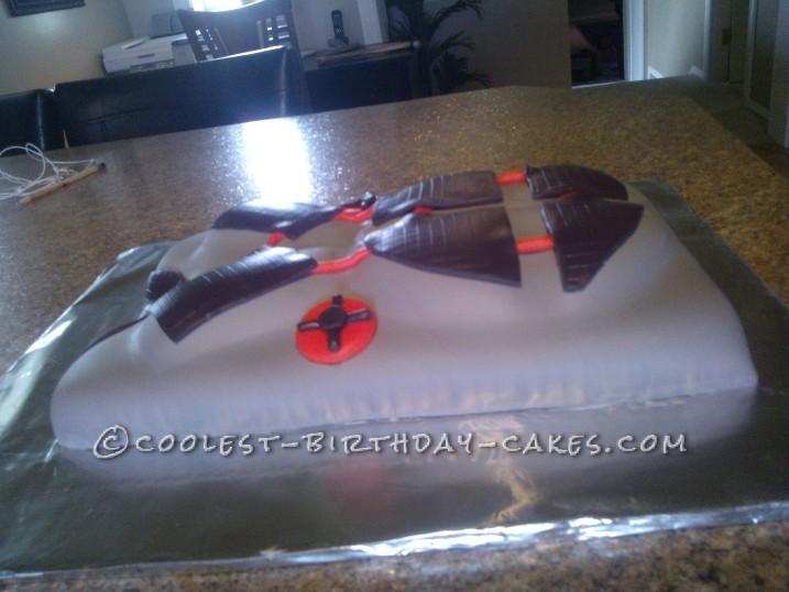 Coolest Laser Tag Vest Cake