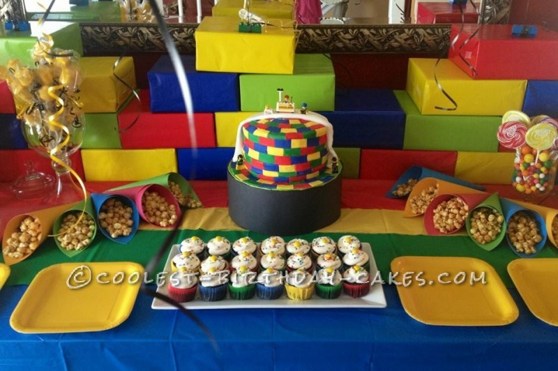 Coolest Legoland Party Birthday Cake