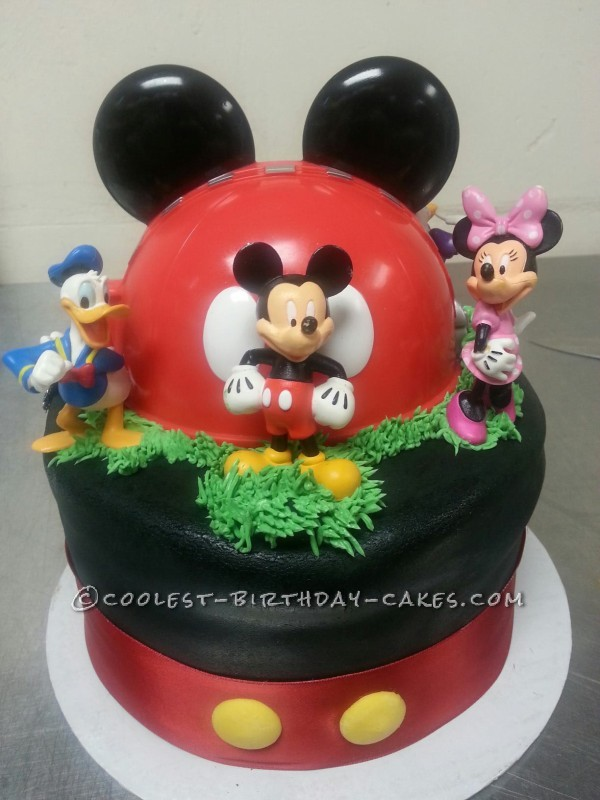 Coolest Mickey Mouse and Friends Cake