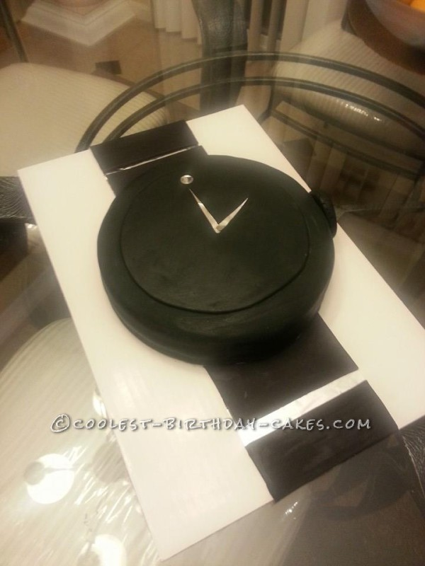 Coolest Movado Watch Cake