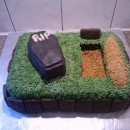 Coolest Over the Hill Birthday Cake