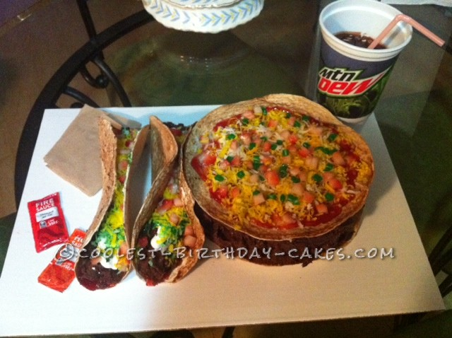 Coolest Taco Bell Cake - #4 with a DP, Please