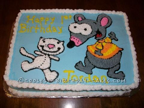 Coolest Toopie and Beeno Birthday Cake