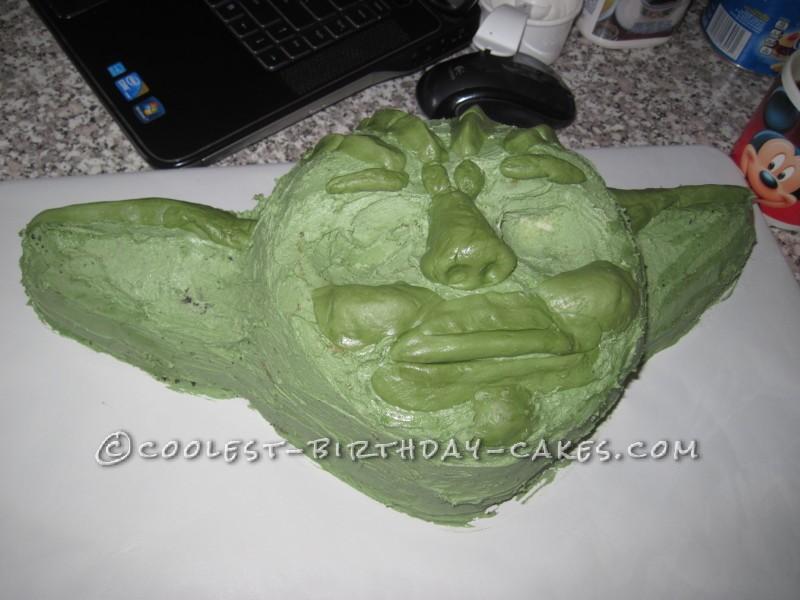 Coolest Yoda Birthday Cake