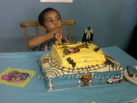Yummiest Superhero Cake Ever