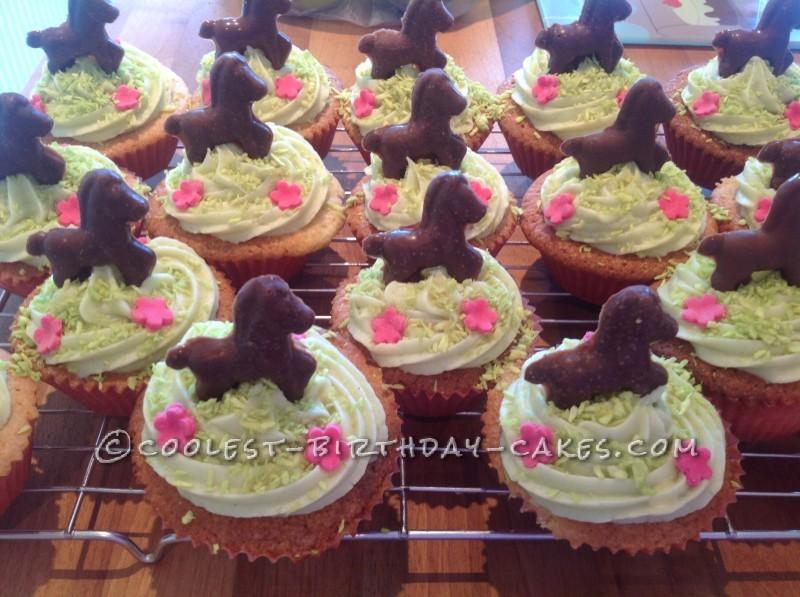 Coolest 6th Birthday Pony Cake