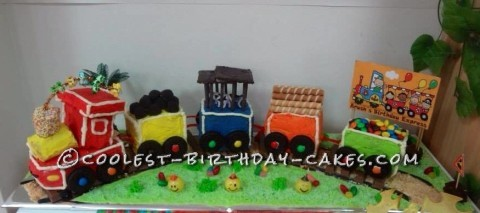 Coolest Birthday Express Cake