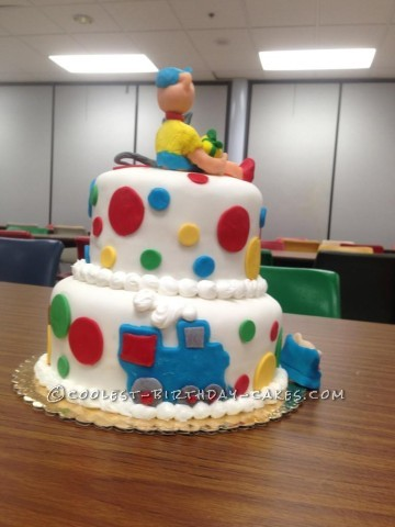 Coolest Caillou Cake