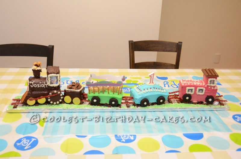 Coolest Choo Choo Train Cake