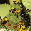 Coolest Construction Zone Cake