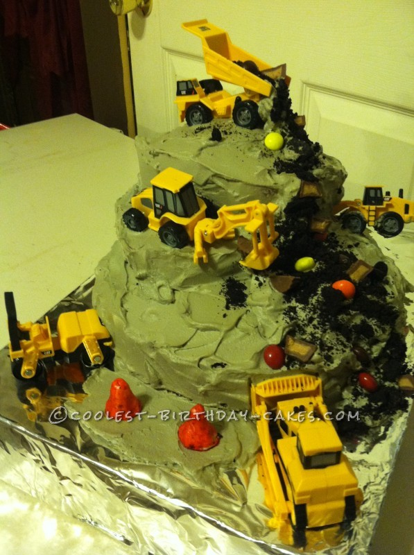 Coolest Construction Zone Cake