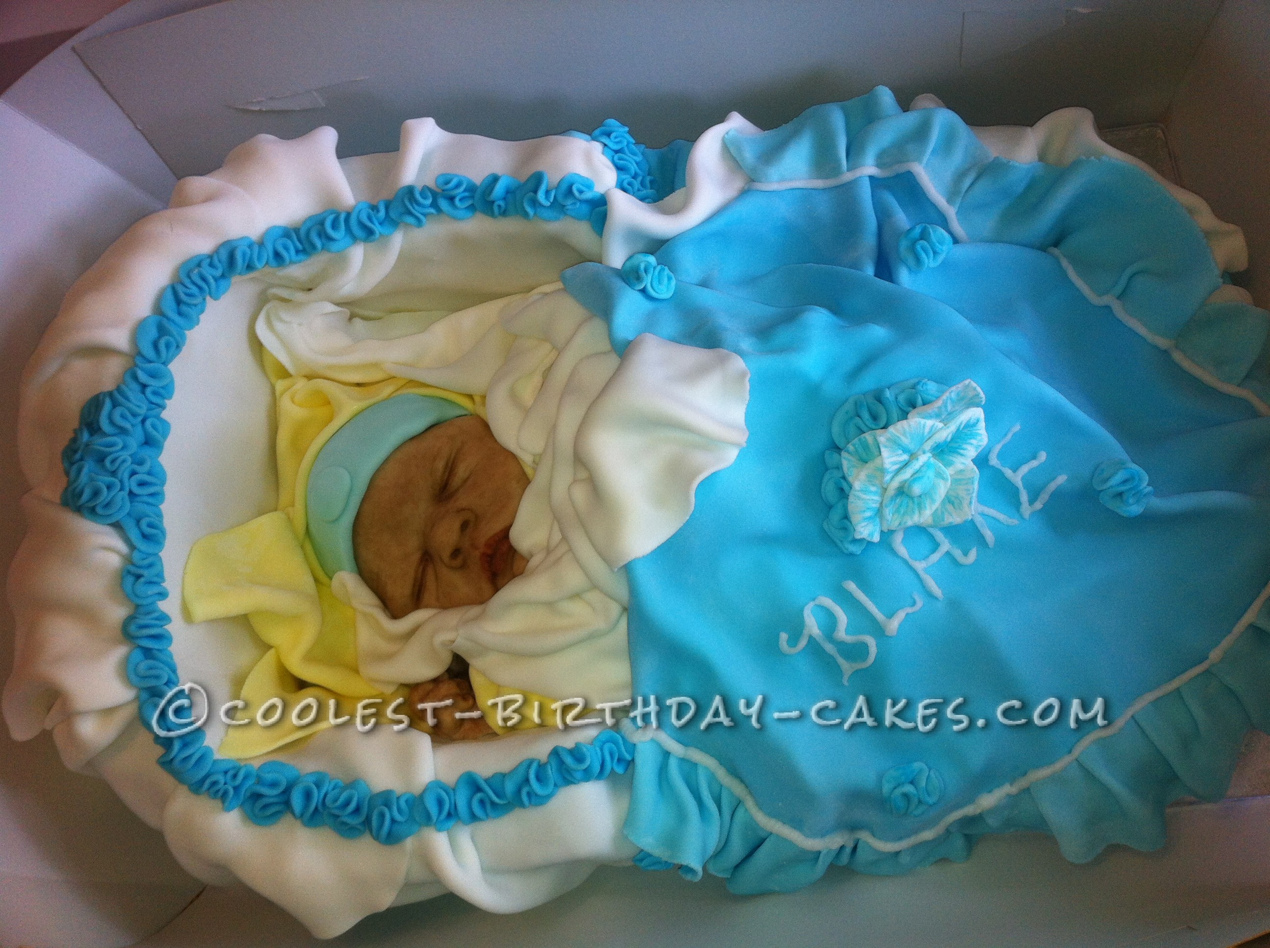Amazingly Realistic Homemade Baby Cake!