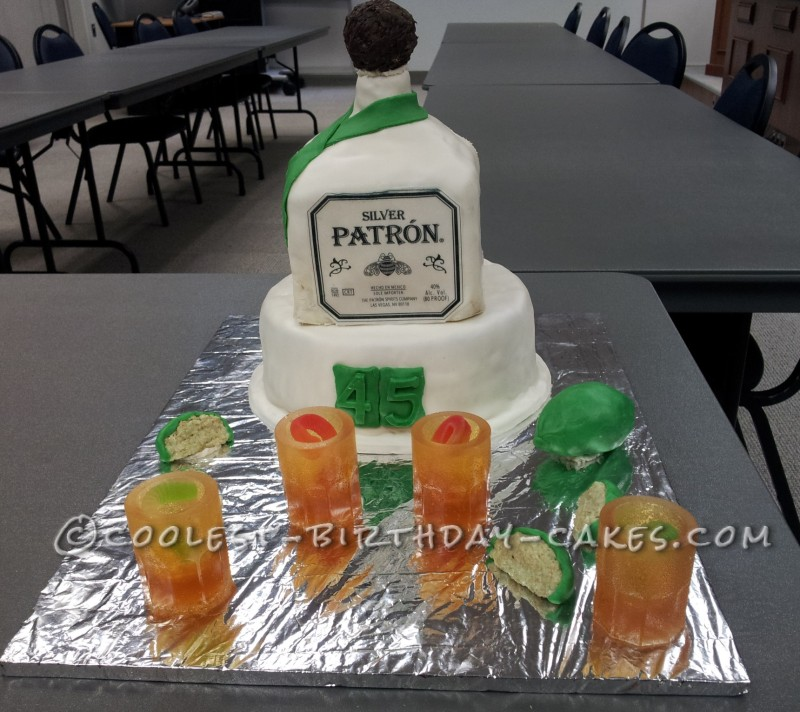 Coolest Tequila Cake