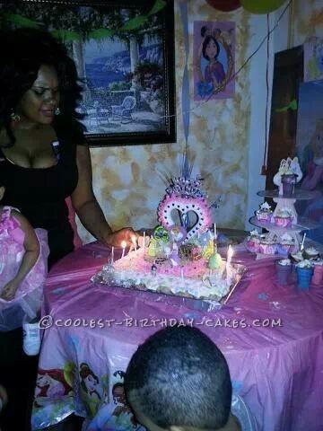 Disney Princess Cupcake Cake