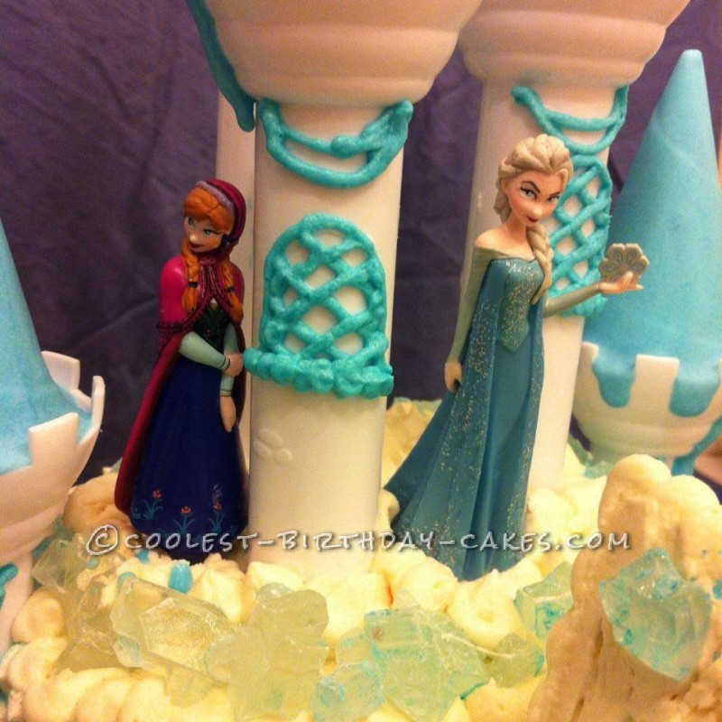 disneys frozen castle cake 63537 800x800 Frozen Birthday Cake Belfast