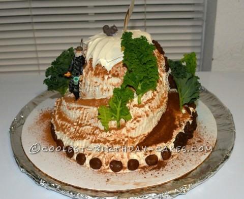 Coolest Mountain Birthday Cake