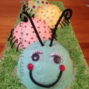 Coolest Caterpillar Cake for Grandson