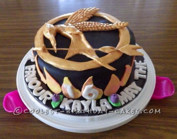 Coolest Hunger Games Cake