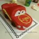 Coolest Lightning McQueen Cars Cake