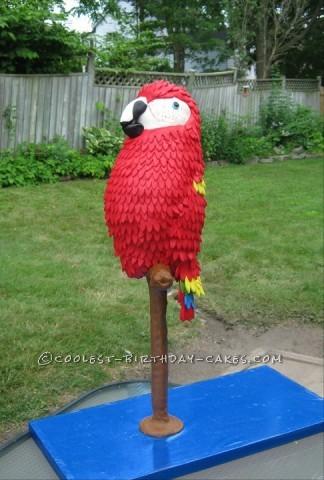 Coolest Margaritaville Parrot Cake