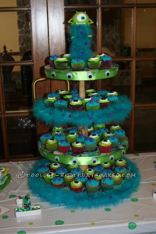 Not So Scary Monsters Inc Birthday Cake