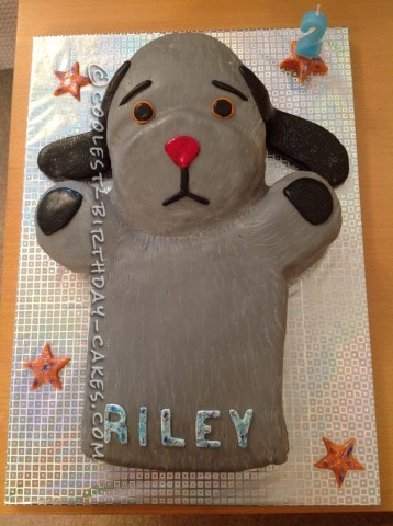 Sweep Birthday Cake from Sooty TV Show