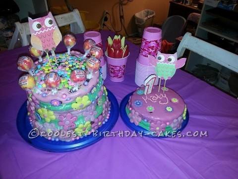 Homemade First Birthday Cake