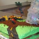 Totally Twister Tornado Cake
