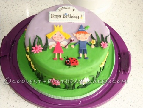 Coolest Ben And Holly Birthday Cake