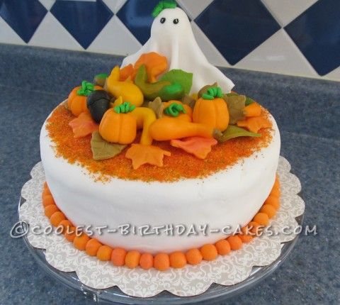 Coolest Halloween and Fall Birthday Cake