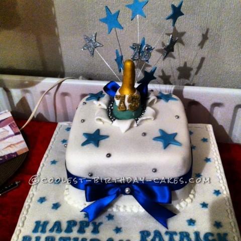 Coolest 75th Birthday Cake