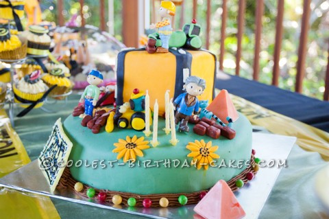 Coolest Bob the Builder Cake