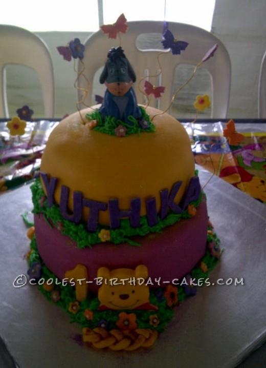 Homemade Eeyore Cake