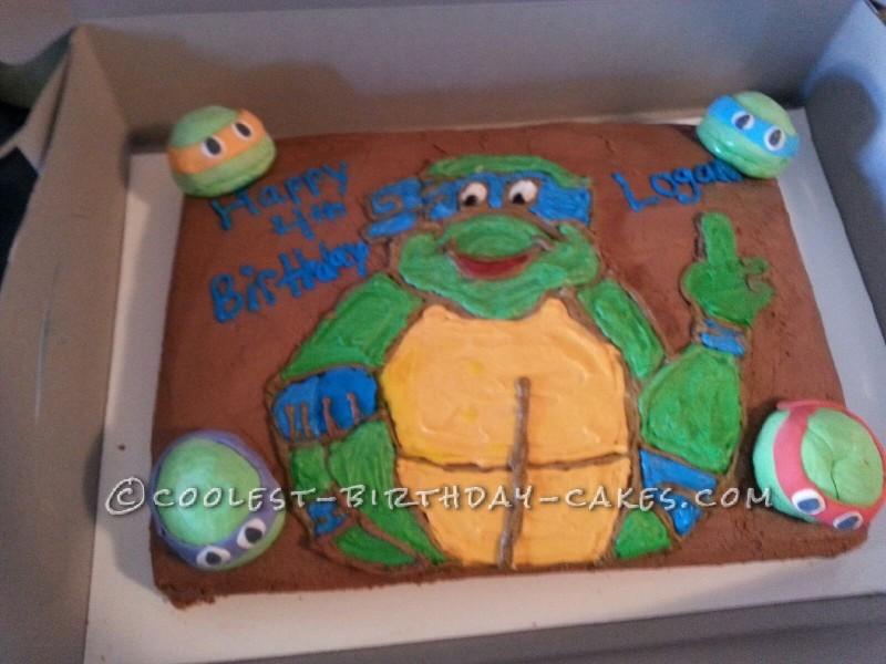 Coolest TMNT Cake