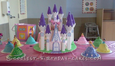 Coolest Castle Kingdom Cake