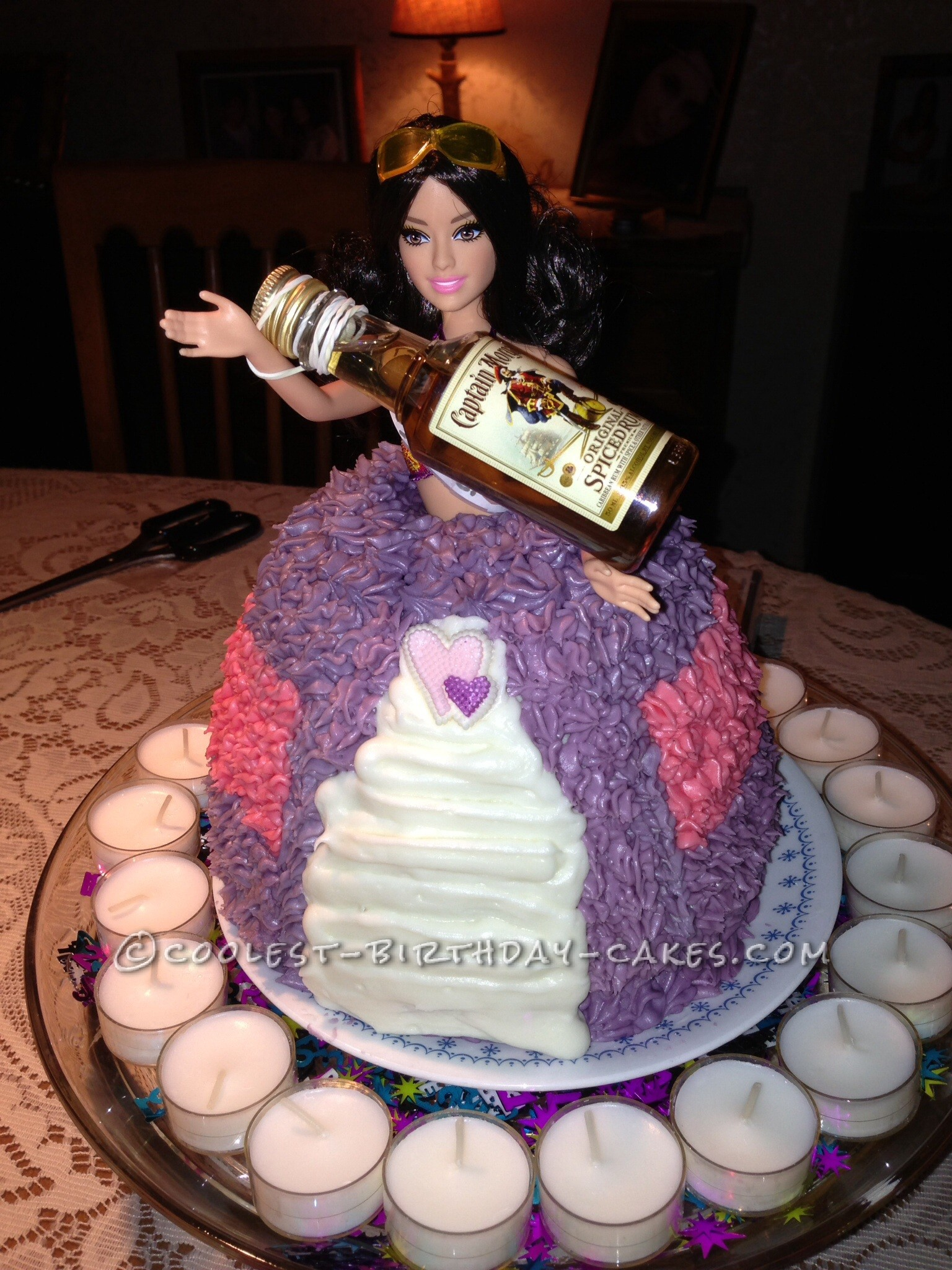 My Daughter Was Turning 21 And Of All Things She Wanted A Barbie Cake So I Dug Out Grandmothers Midnite Chocolate Recipe Started Baking
