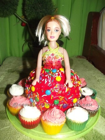 Coolest Homemade Customized Doll Cake