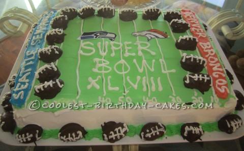 Coolest Super Duper Super Bowl Cake