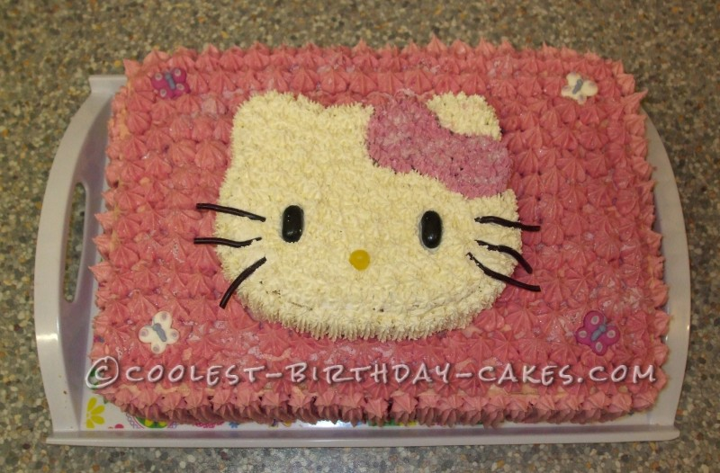 Coolest Pink Hello Kitty Cake