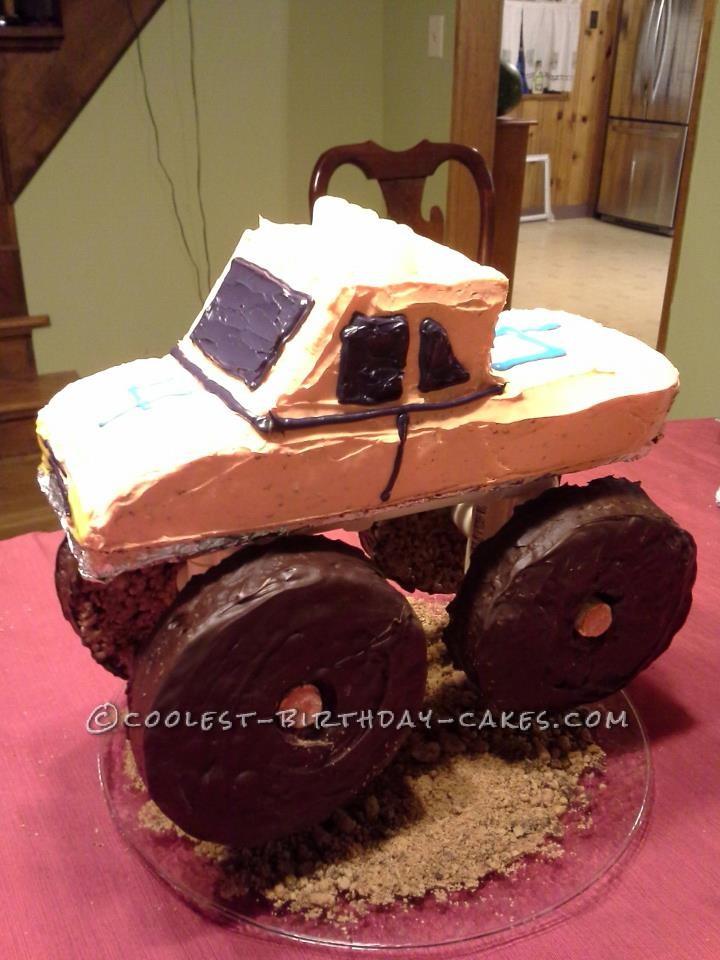 Cool 3D Monster Truck Cake