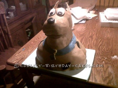 Coolest 3D Scooby Doo Birthday Cake
