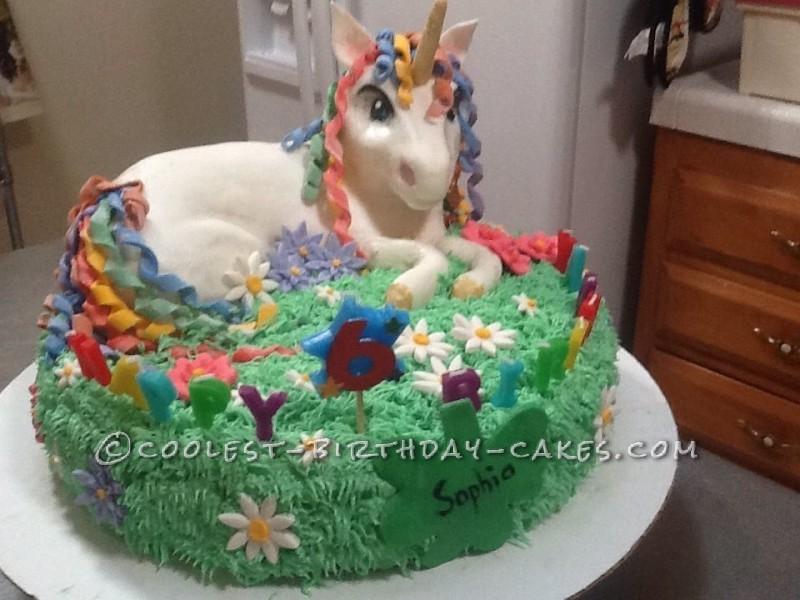 Remarkable Coolest Unicorn Birthday Cake Birthday Cards Printable Inklcafe Filternl